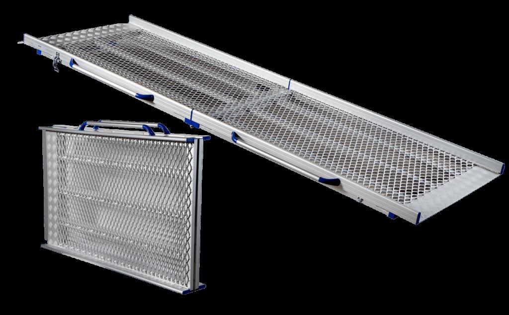 Anyramp, praktisk flyttbar ramp i aluminium